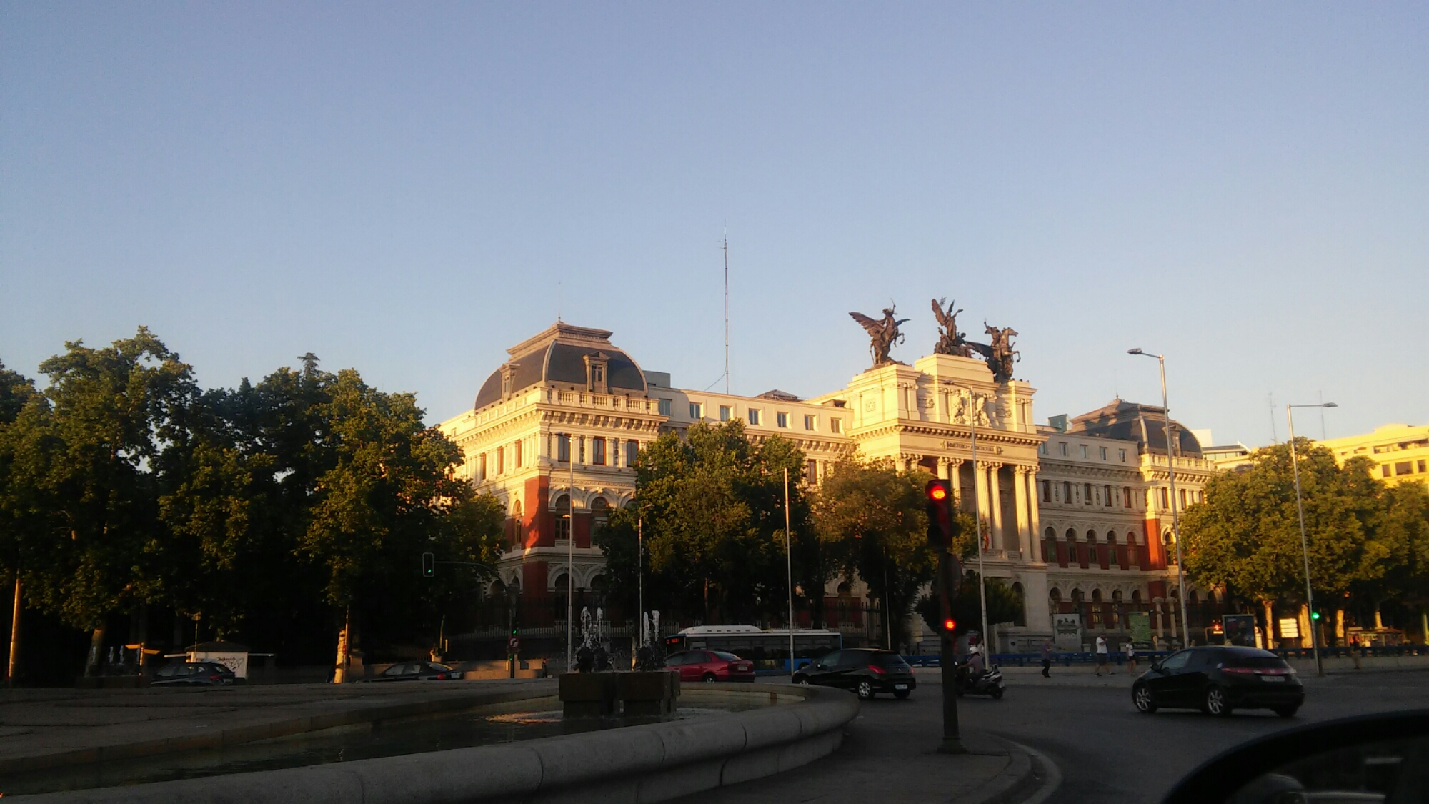 En rotonda de Atocha