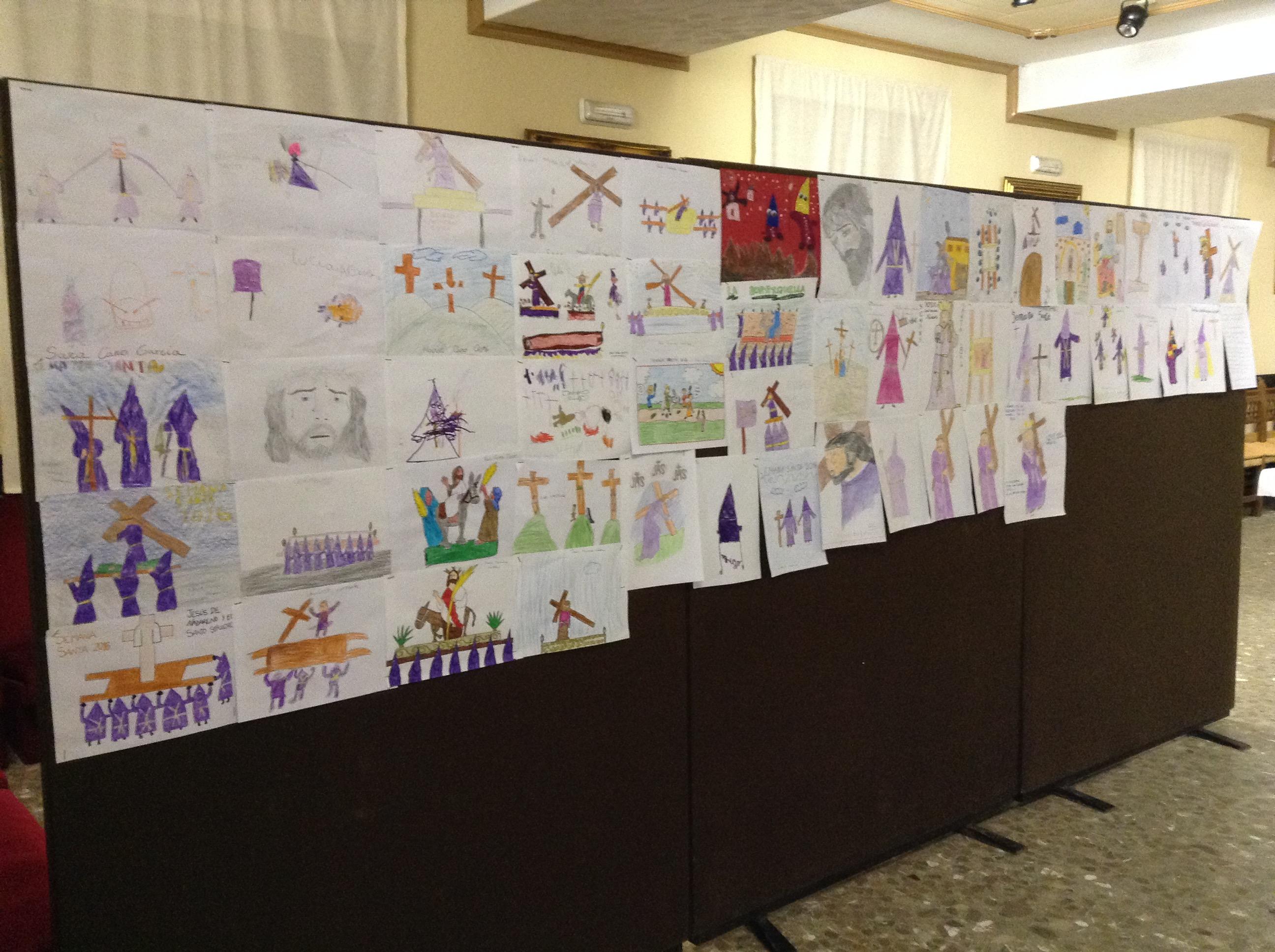 Dibujos de niños nazarenos