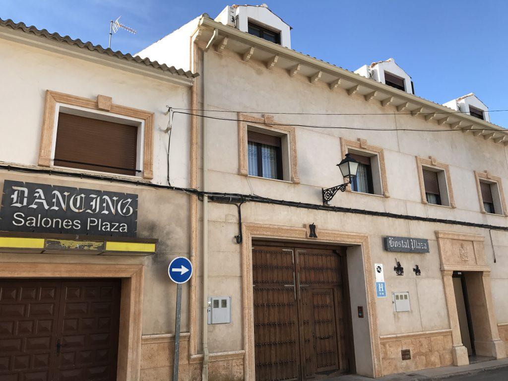 Hostal Rural Plaza en Mota del Cuervo (Cuenca) #desde1868