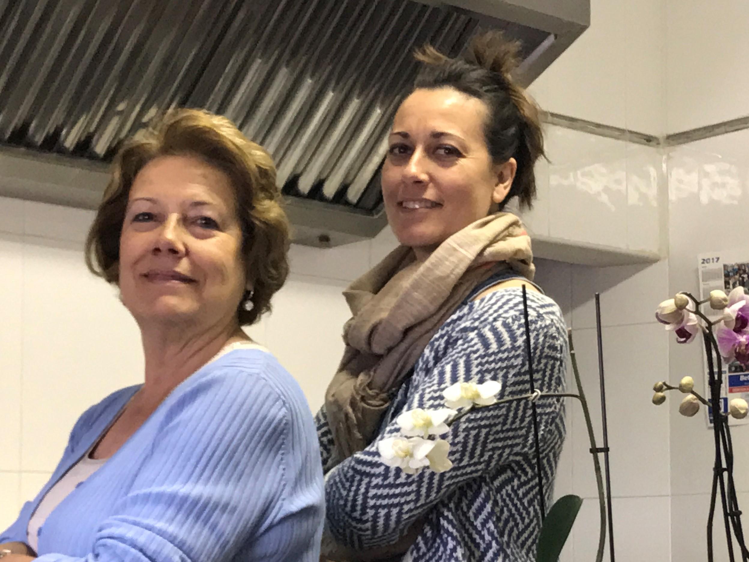 Ángeles García Arribas y Patricia Plaza García